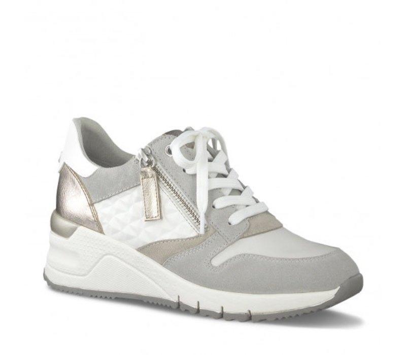 Tamaris 23702 White Comb Sneaker