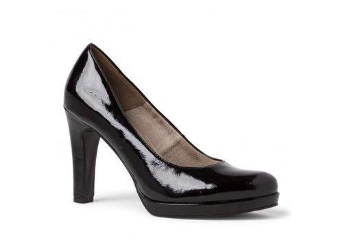 Tamaris A/W Tamaris 22426 Black Patent Shoes