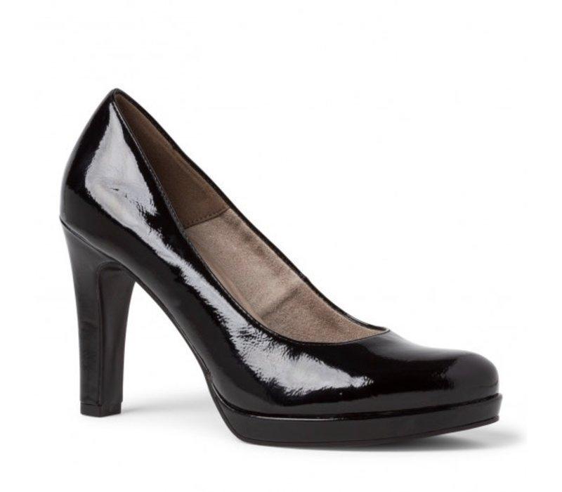Tamaris 22426 Black Patent Shoes