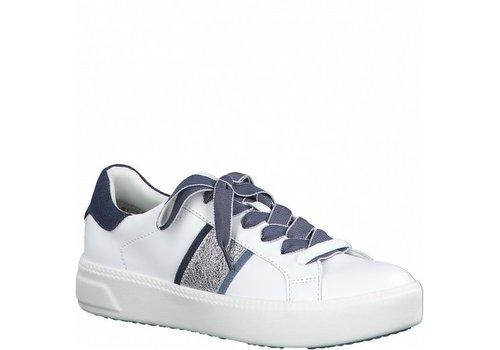 Tamaris S/S Tamaris 23750 White/Jeans Sneakers