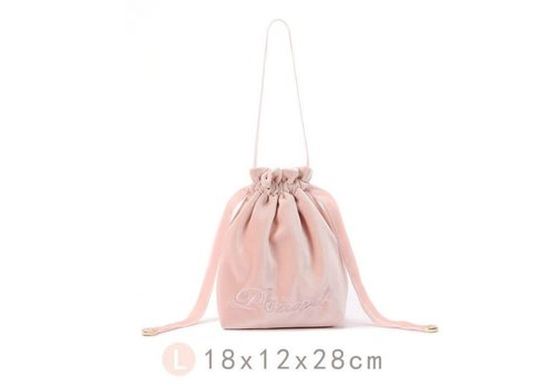 Peach Accessories Large bucket Make up Bag in Pink