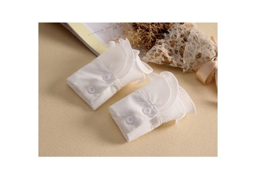 Peach Accessories 7724 pretty White cotton Cuff's