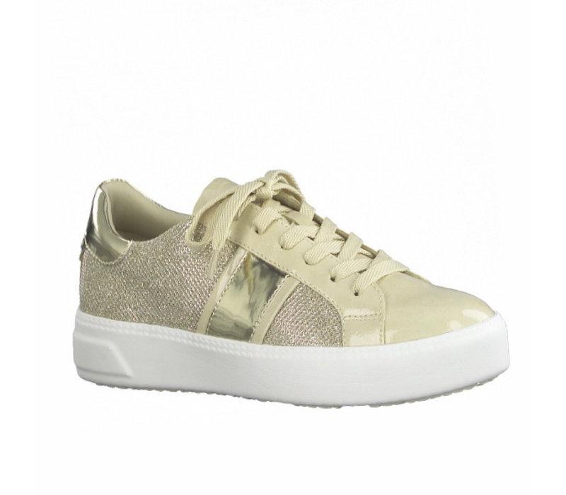 Tamaris 23750 Ivory Comb Sneaker