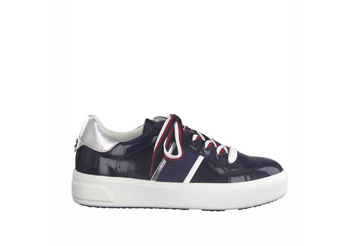 Tamaris S/S Tamaris 23750 Navy Patent Sneaker