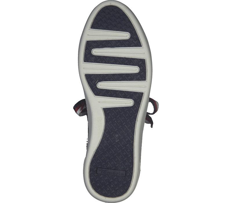 Tamaris 23750 Navy Patent Sneaker