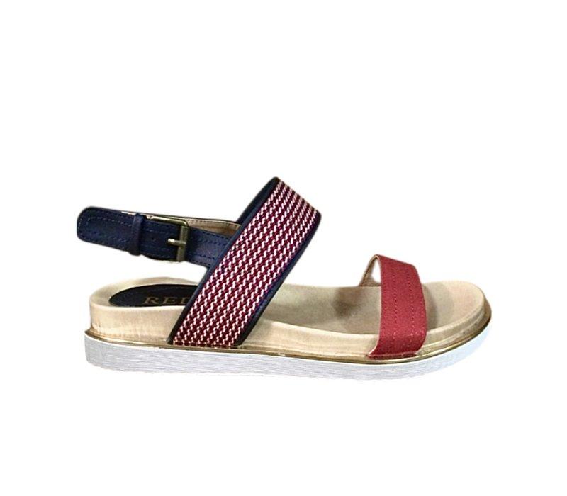 REDZ TS2072 Red multi Sandals