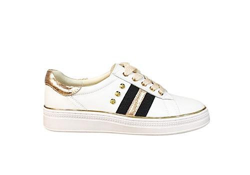REDZ REDZ CX407 White/Rose Gold Sneaker