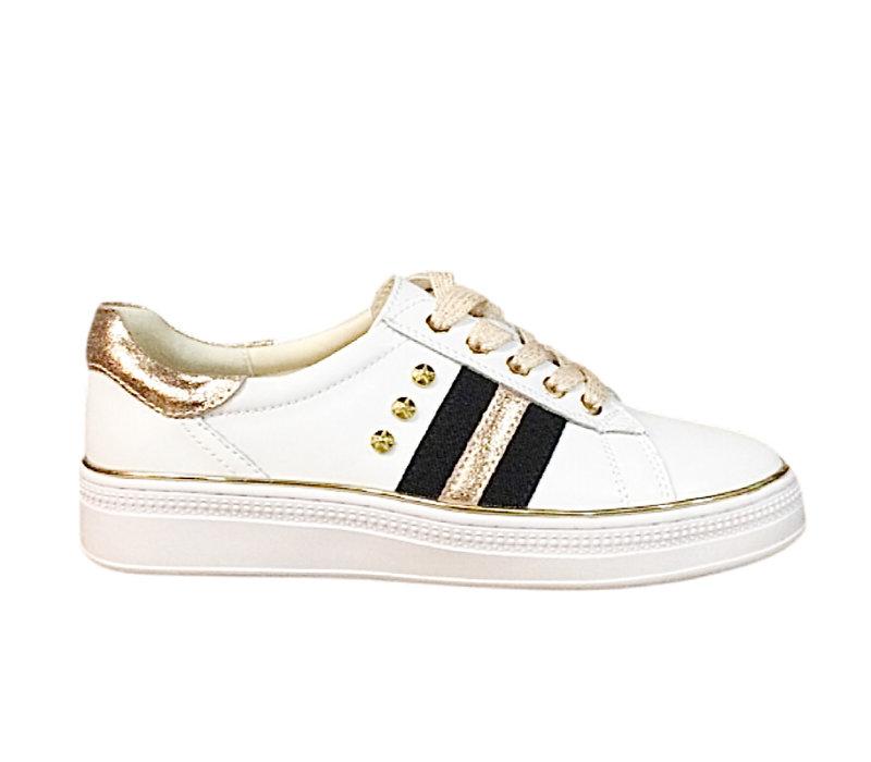 REDZ CX407 White/Rose Gold Sneaker