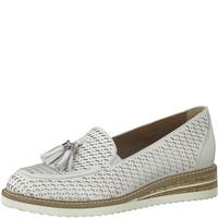 Tamaris 24301 White Slip-on Shoe