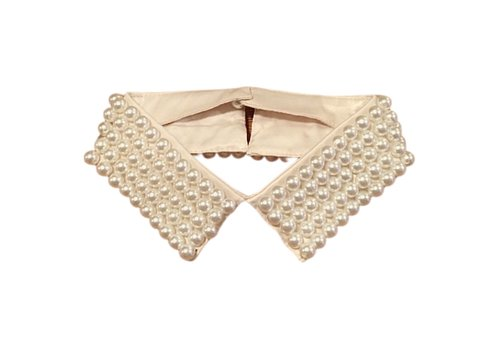 Peach Accessories 7729 Champagne Pearl neck  Collar