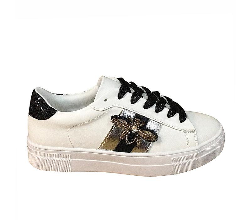 REDZ 97188-2 White Bee Sneaker