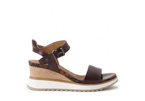 Tamaris S/S Tamaris 28015 Cafe wedge sandal