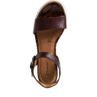 Tamaris 28015 Cafe wedge sandal
