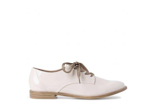 Tamaris S/S Tamaris 23203 Cream patent shoe