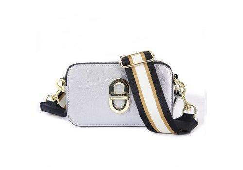 Peach Accessories SS01 Silver crossbody Bag