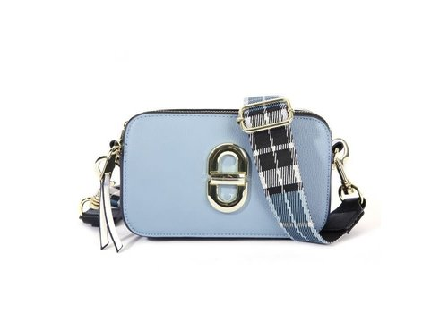Peach Accessories SS01 Blue Crossbody Bag