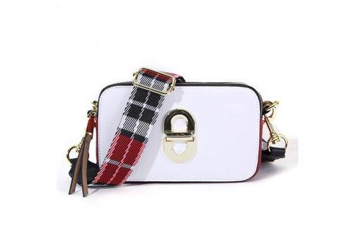 Peach Accessories SS01 White Crossbody Bag
