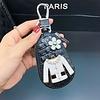 Peach Accessories 3021 Leather key chain zipper bag