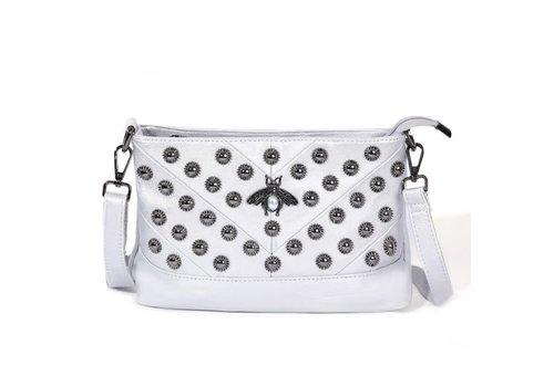 Peach Accessories 4711 Pearl Bee Silver Bag
