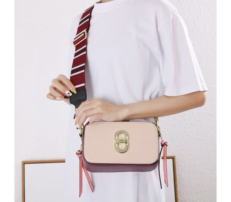 SS01 Nude Crossover Bag