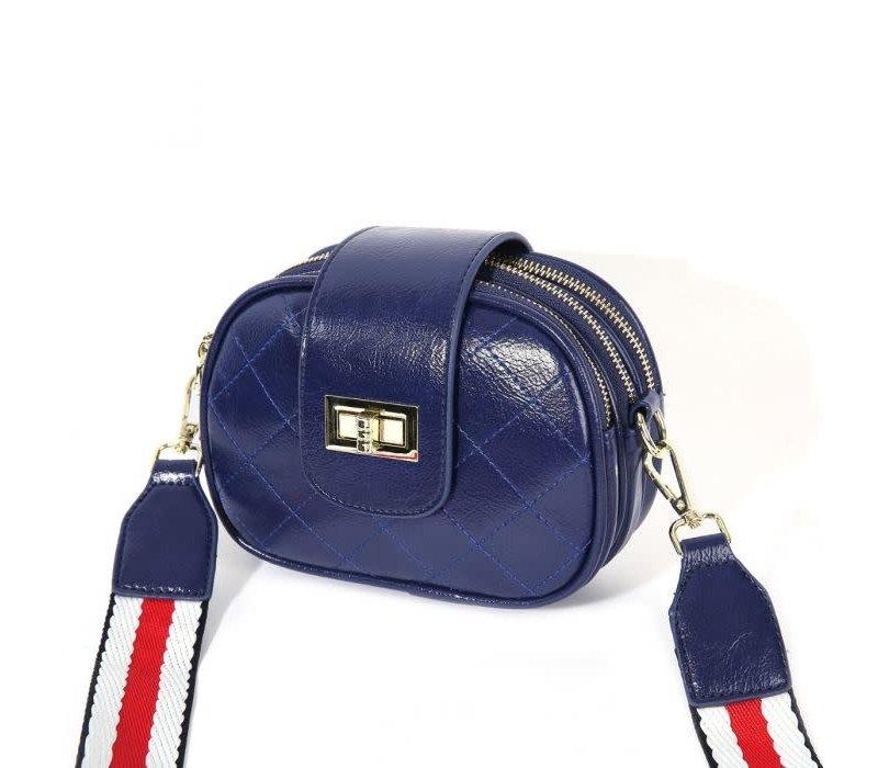 PO19 Navy Crossover Bag