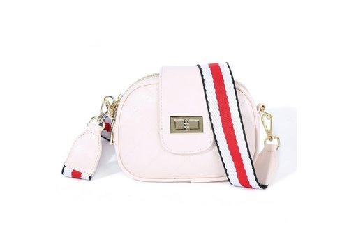 Peach Accessories PO19 Cream Crossbody Bag