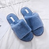 Peach Accessories 1990 Blue furry Slippers