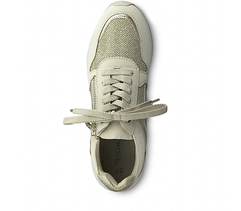 Tamaris 23606 Ivory Comb Sneaker