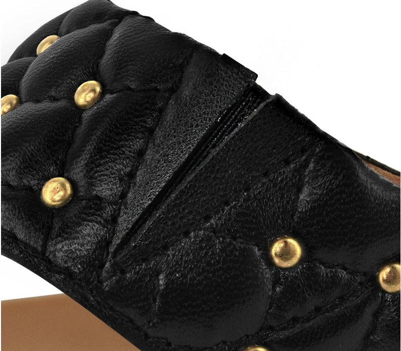 Strive FIJI Black Quilted Leather