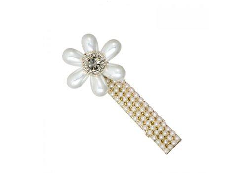 Peach Accessories HA202 Cream Pearl Hair Clip