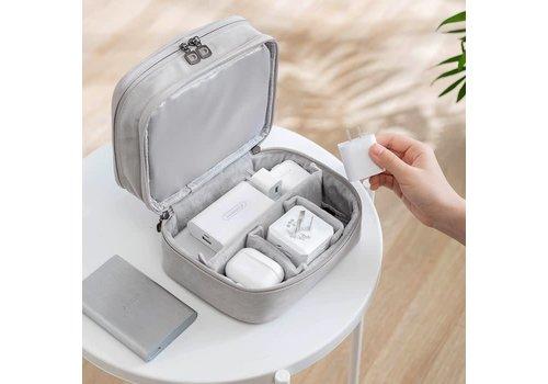 Peach Accessories PUR002 Pretty Grey Storage Box