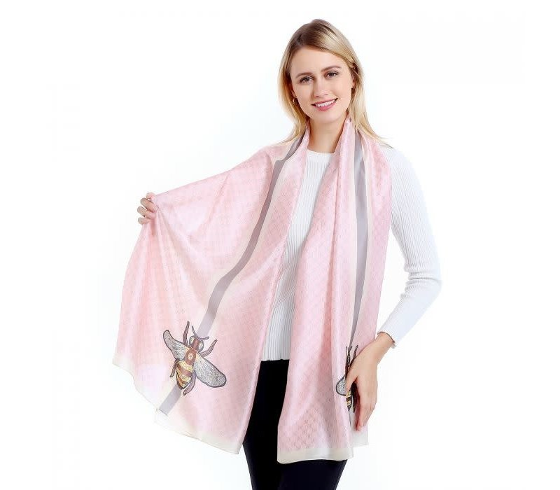 TT34 Pink Bee style Scarf