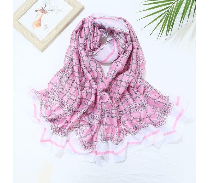 TT181 Baby Pink Scarf