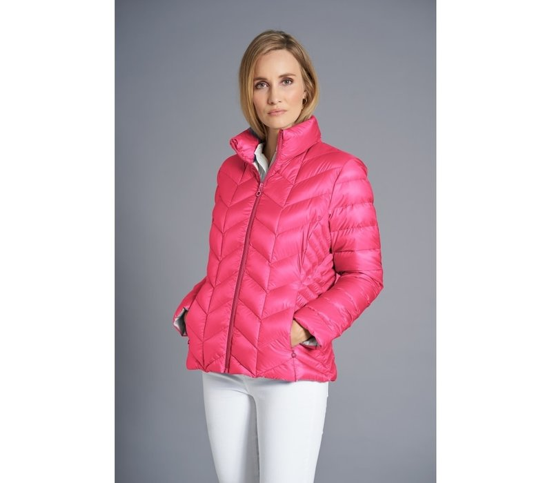 JUNGE 2840-62 DAISY Pink Down Jacket