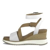 Tamaris 28021 White/Tan Sandal