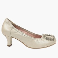 Le Babe LADY Pearl Leather Pearl trim