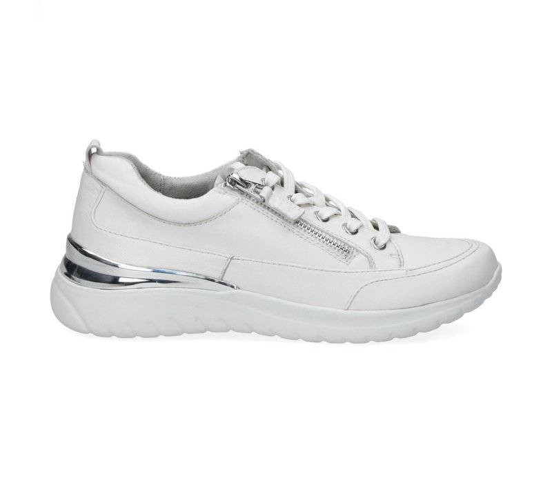 Caprice 23713 White Soft Leather