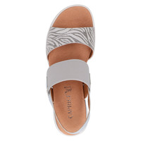 Caprice 28306 Grey Zebra