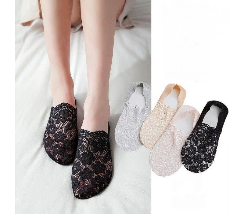 SDK024 Black Lace Shoe Liner's