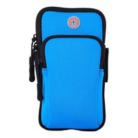 PP03 Blue Sports Armband Pouch