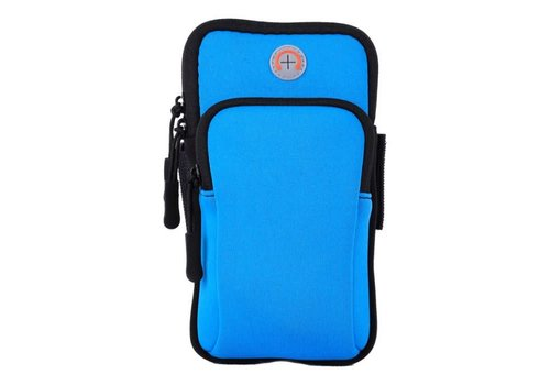 Peach Accessories PP03 Blue Sports Armband Pouch