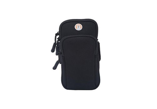 Peach Accessories PP03 Black Sports Armband Pouch