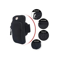 PP03 Black Sports Armband Pouch