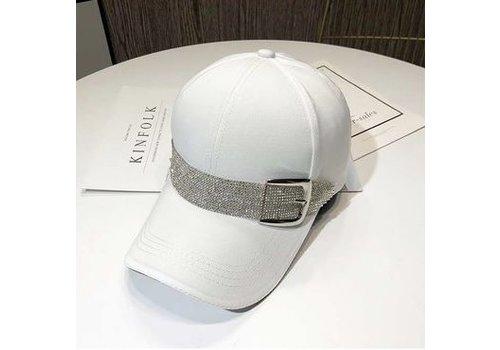 Peach Accessories SD112 White Baseball cap