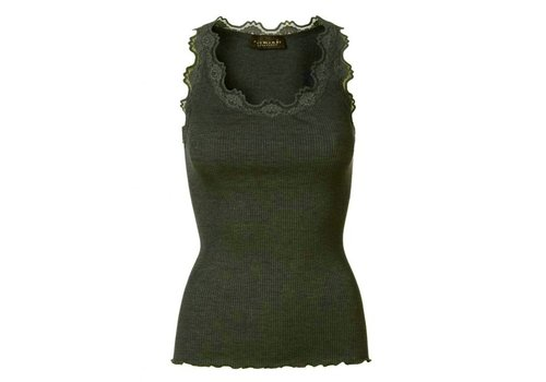 Rosemunde Rosemunde 5405 Silk & Lace Top
