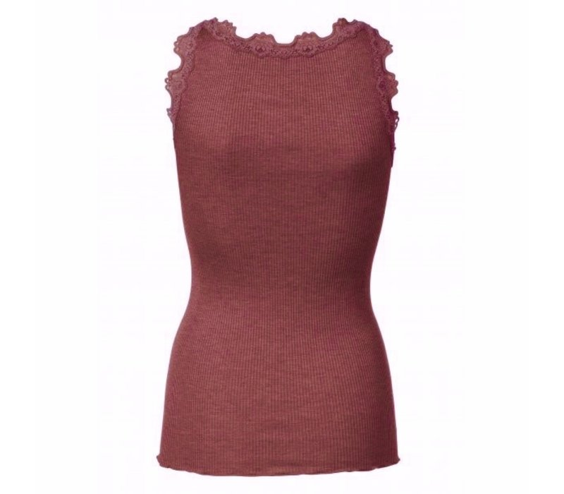 Rosemunde 5205 Silk & Lace Top
