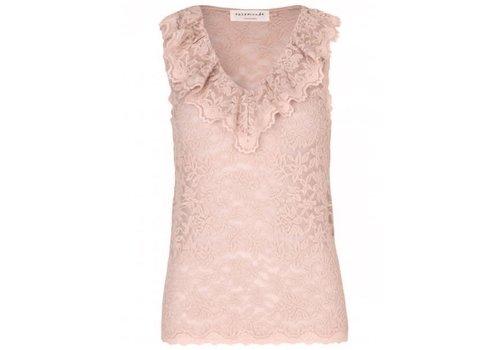 Rosemunde Rosemunde 4950 V neck Lace Top