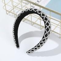 HA707 Black Pearl Hairband