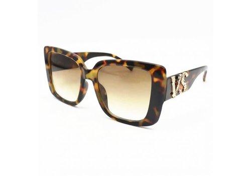 Peach Accessories 20941 Leopard VS Sunglasses