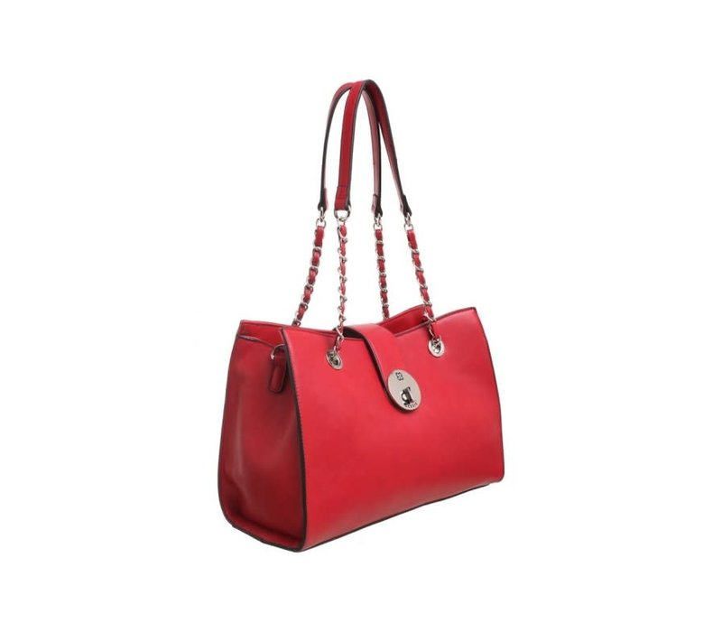 BH2724  Red Bag with Chain